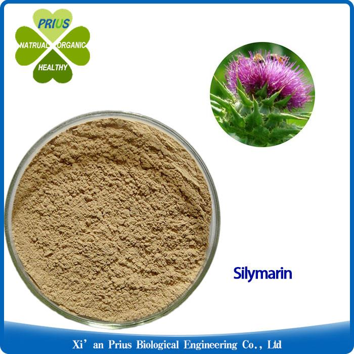 Silymarin Milk Thistle Extract Pure Light Yellow Powder Benefit Liver Cleanse.jpg