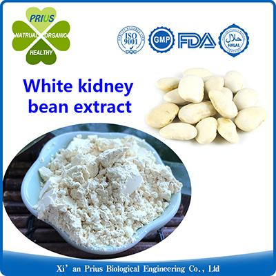 White Kidney Bean Extract Powder Weight Loss Phase 2 Carb Blocker Fat Burning White Bean Extract